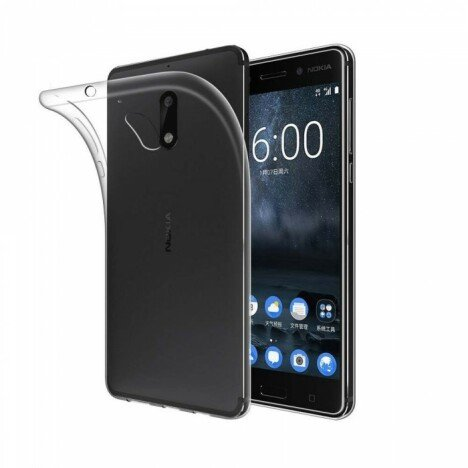 Husa silicon transparent Nokia 5